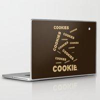 cookies Laptop & iPad Skins featuring COOKIES! by Lindsay Spillsbury