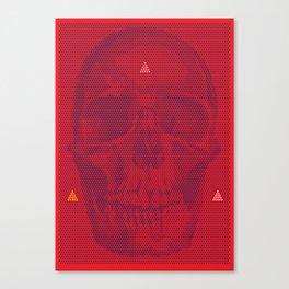 QUANTUM SKULL Canvas Print