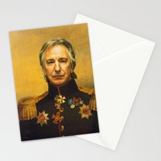 Alan Rickman - replaceface Stationery Cards