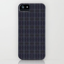 Backsplash Square Glass Spirals iPhone Case