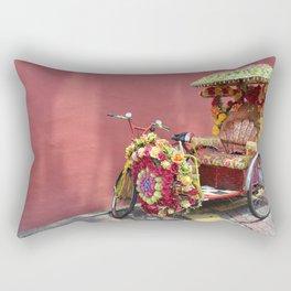Malacca Festive Trishaw  Rectangular Pillow