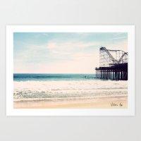 Casino Pier Art Print