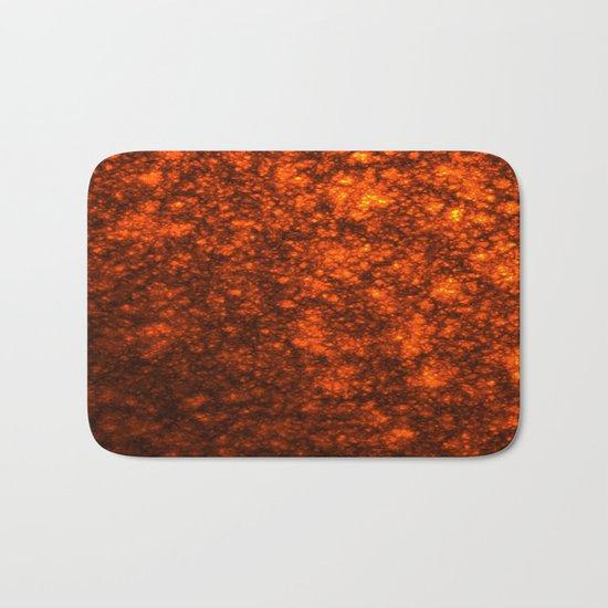 Molten Lava Bath Mat