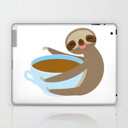 sloth & coffee 2 Laptop & iPad Skin