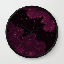 Garnet Universe Wall Clock