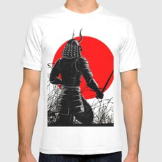 The way of warrior Mens Fitted Tee White MEDIUM