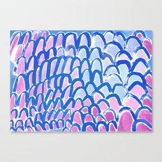 Troubled Sea Canvas Print