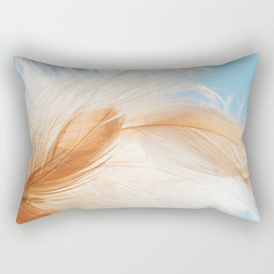 light as a feather Rectangular Pillow
