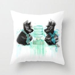 Watercooler II Throw Pillow