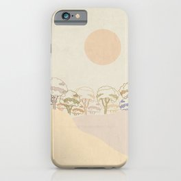 Ivory landscape iPhone Case