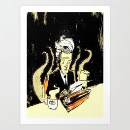 Coffee Lynch Art Print