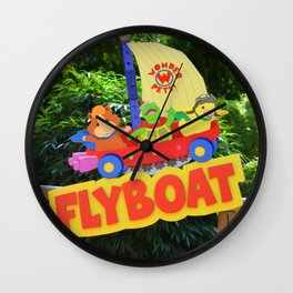 Wonderpets Flyboat Wall Clock