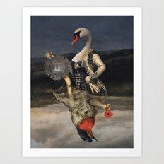 Gemini: Air Art Print