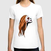 dia de los muertos T-shirts featuring Dia De Los Muertos by Caitlin Victoria Parker