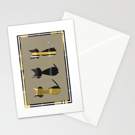 Cats in Tartan - very Scottish Stationery Cards
