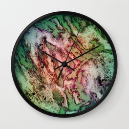 To reveal a gentle rose Wall Clock