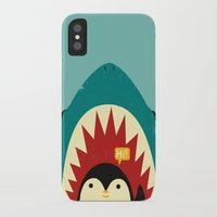 strong iPhone & iPod Cases featuring Hi! by Jay Fleck