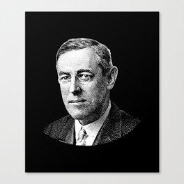 President Woodrow Wilson Graphic Canvas Print