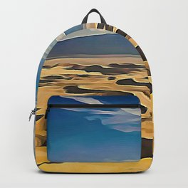 The Goby Desert Bivalent Shades Windy Decomposed Dunes Backpack
