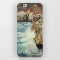 big sur iPhone & iPod Skins featuring Big Sur - Embrace me by Jenndalyn