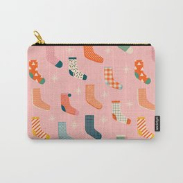 Christmas socks Carry-All Pouch