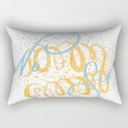 no sir Rectangular Pillow