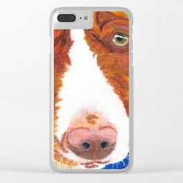 Josefina (old man eyes) Clear iPhone Case