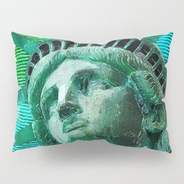 Pop Art Statue of Liberty Pillow Sham