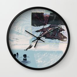 New Discoveries and Dangers Wall Clock