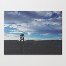 Colorado Silhouette Canvas Print