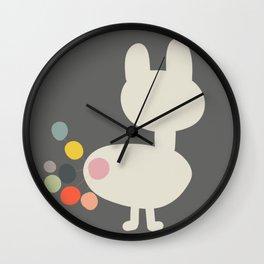 Bunny Farts Wall Clock