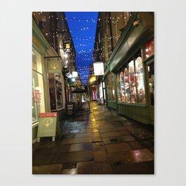 Street In Bath Canvas Print