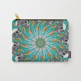 Baboon Mandala Carry-All Pouch