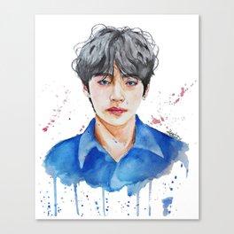 Taehyung watercolor Canvas Print