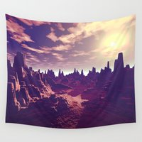 arizona Wall Tapestries featuring Arizona Canyon Sunshine by Phil Perkins