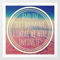 infinite Art Prints featuring Infinite by Josrick