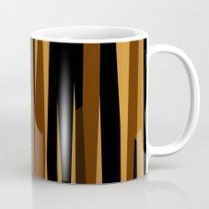 Golden Wood Grain Dark Mug