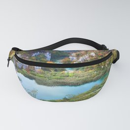 Plitvice Lakes National Park in Croatia Fanny Pack