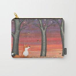 fox & fireflies Carry-All Pouch