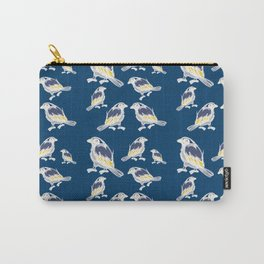 Happy Birds Carry-All Pouch