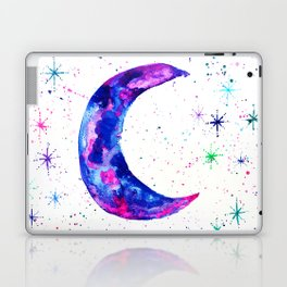 Dreamy Crescent Moon Phase Laptop & iPad Skin