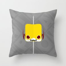 Marshmallow Reverse-Flash Throw Pillow