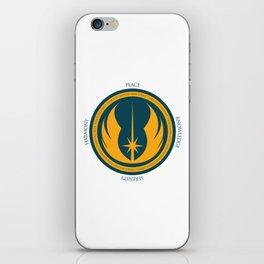 The Jedi Code iPhone Skin