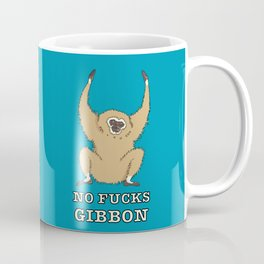 No Fucks Gibbon (No Fucks Given) Coffee Mug