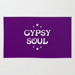 Gypsy Soul Mystical Stars Purple Rug
