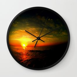 july morning Wall Clock