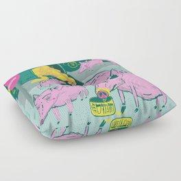 Pigggies Floor Pillow