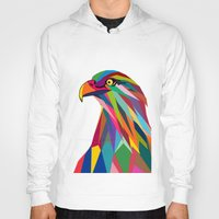 eagle Hoodies featuring Eagle by mark ashkenazi