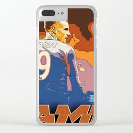 football star Clear iPhone Case