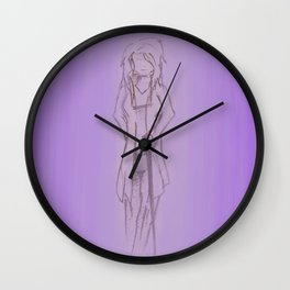 Welcome, Mrs Potter Wall Clock
